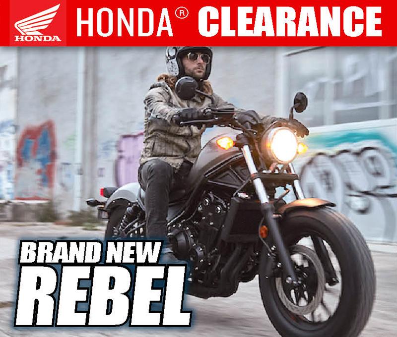 Used Honda Motorcycles >> Honda Motorcycle Clearance Cedar Creek Motorsports