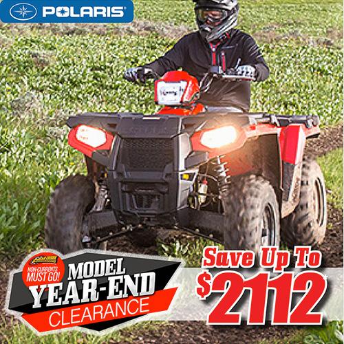 Model Year End Clearance Sale | Cedar Creek Motorsports