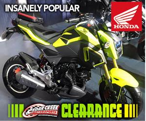 spring fever sale cedar creek motorsports motorcycle atv sales. Black Bedroom Furniture Sets. Home Design Ideas
